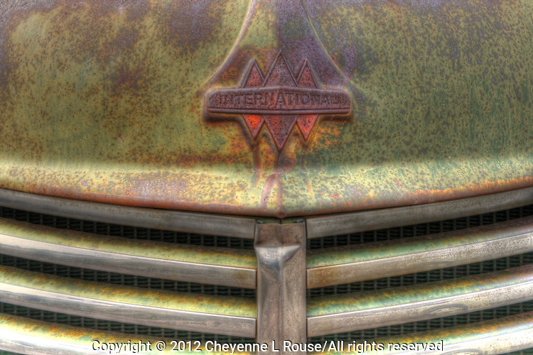 International Truck Hood - New Mexico
