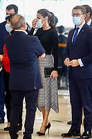 OCT 07 Queen Letizia Visits Politecnico de Santiago