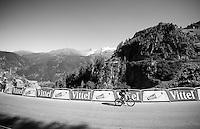 Wout Poels (NLD/SKY) into the last 300m<br /> <br /> stage 17: Bern (SUI) - Finhaut-Emosson (SUI) 184.5km<br /> 103rd Tour de France 2016