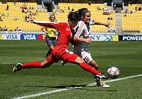 081108 FIFA Under-17 Women's World Cup - Denmark v Korea DPR