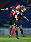 Ross County v St Johnstone....07.04.15   SPFL<br /> Steven Anderson and Craig Curran<br /> Picture by Graeme Hart.<br /> Copyright Perthshire Picture Agency<br /> Tel: 01738 623350  Mobile: 07990 594431