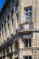 Europe/France/Normandie/76/Seine Maritime/ Le Havre:  Quai Casimir Delavigne, Maison Natale de Casmimir Delavigne //  Europe / France / Normandy / 76 / Seine Maritime / Le Havre: Quai Casimir Delavigne, Birthplace of Casmimir Delavigne