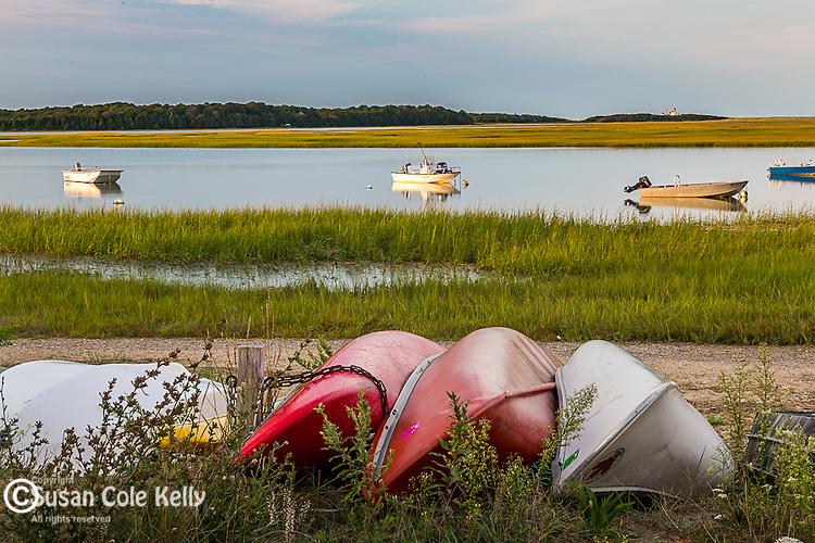 Nauset Marsh, Cape Cod National Seashore, Eastham, Massachusetts, USA