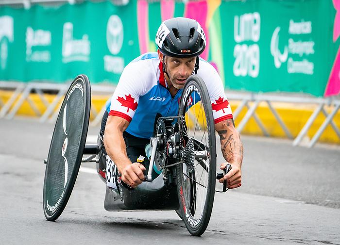 Patrick Desnoyers - Lima 2019. Para Cycling // Paracyclisme.<br /> Patrick Desnoyers competes in the road race // Patrick Desnoyers participe à la course sur route. 01/09/2019.