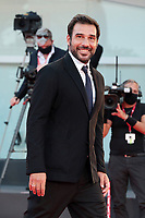 """VENICE, ITALY - SEPTEMBER 10: Edoardo Leo walks the red carpet ahead of the movie """"Nuevo Orden"""" (New Order) at the 77th Venice Film Festival on September 10, 2020 in Venice, Italy. <br /> CAP/MPI/AF<br /> ©AF/MPI/Capital Pictures"""