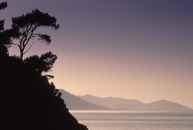 Asia, TUR, Turkey, Aegean Coast, Aegean, Nationalpark Milli Park, View at  Samos (Greece)