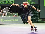 March 26 2018: Alexander Zverev (GER) defeats David Ferrer (ESP) by 2-6, 6-2, 6-4, at the Miami Open being played at Crandon Park Tennis Center in Miami, Key Biscayne, Florida. ©Karla Kinne/Tennisclix/CSM