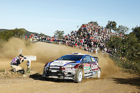 Nasser Al-Attyah and Giovanni Bernacchini, Ford Fiesta RS WRC of QATAR WORLD RALLY TEAM during WRC Vodafone Rally de Portugal 2013, in Algarve, Portugal on April 12, 2013 (Photo Credits: Paulo Oliveira/DPI/NortePhoto)