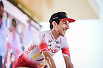 Stephane Rossetto (FRA) Cofidis at sign on before the start of Stage 18 of the 2019 Tour de France running 208km from Embrun to Valloire, France. 25th July 2019.<br /> Picture: ASO/Pauline Ballet | Cyclefile<br /> All photos usage must carry mandatory copyright credit (© Cyclefile | ASO/Pauline Ballet)
