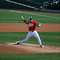 Trey Dillard plays in the MLB / USA Baseball Prospect Development Pipeline game at Sloan Park on February 5, 2017 in Mesa, Arizona (Bill Mitchell)