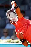 Fernando Verdasco during Madrid Open Tennis 2015 match.May, 5, 2015.(ALTERPHOTOS/Acero)