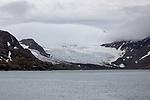 South Georgia Glacier, Fortuna Bay
