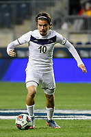 Chester, PA - Friday December 08, 2017: Manuel Cordeiro The Stanford Cardinal defeated the Akron Zips 2-0 during an NCAA Men's College Cup semifinal match at Talen Energy Stadium.