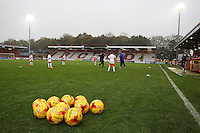 General view ahead of during Stevenage vs Yeovil Town, Sky Bet EFL League 2 Football at the Lamex Stadium on 12th November 2016