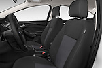 Front seat view of a 2015 Ford Focus SE Sedan 4 Door Sedan Front Seat car photos