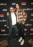 HOLLYWOOD, CA - OCTOBER 12: Jason Ragosta, MacCAllister Byird, at the 21st Screamfest Opening Night Screening Of The Retaliators at Mann Chinese 6 Theatre in Hollywood, California on October 12, 2021. Credit: Faye Sadou/MediaPunch