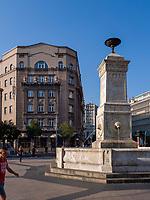 Brunnen am Terazije Platz- Terazije Trg, Belgrad, Serbien, Europa<br /> Fountain at Terazije square, Belgrade, Serbia, Europe