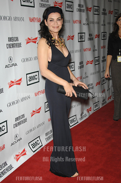 JULIANNA MARGULIES at the 2006 American Cinematheque Gala where George Clooney was presented with the 21st Annual American Cinematheque Award at the Beverly Hilton Hotel..October 13, 2006  Los Angeles, CA.Picture: Paul Smith / Featureflash