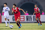 China PR plays against Korea Republic during the AFC U-16 Women's Championship China 2015 Group A match at the  Xinhua Road Stadium on 04 November 2015 in Wuhan, China. Photo by Aitor Alcalde / Power Sport Images