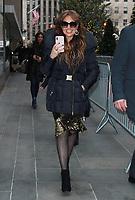 Thalia seen in New York City