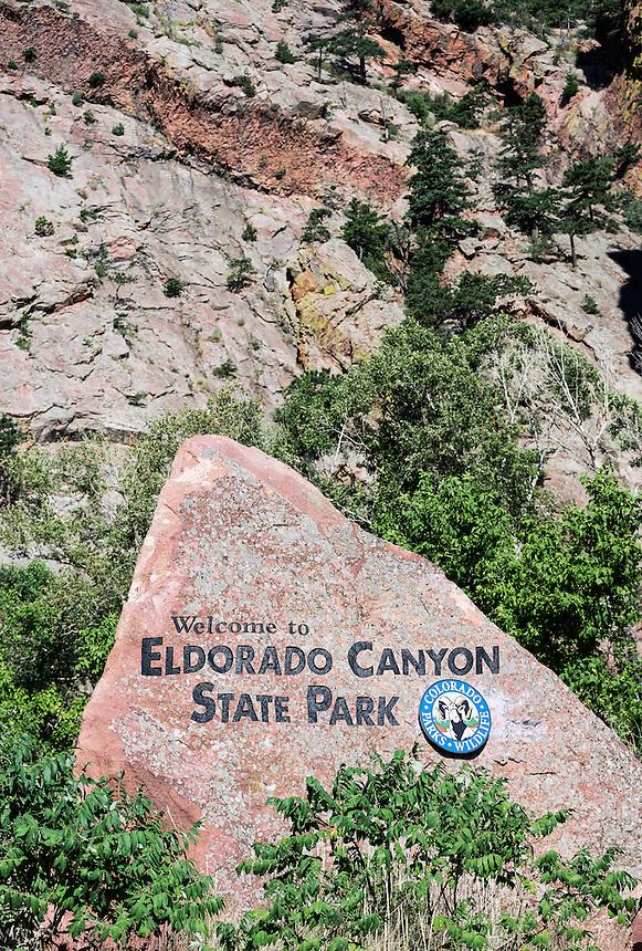 Eldorado Canyon State Park, Boulder County, Colorado, USA