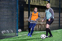 Wednesday 08 February 2017<br /> Pictured: <br /> Re: Premier League Kicks event at Baglan Boys and girls Club, Port Talbot, Wales UK