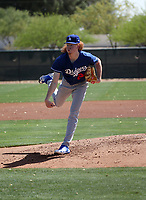 Dustin May - Los Angeles Dodgers 2018 extended spring training (Bill Mitchell)