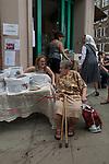 Italian community, annual procession starting from the Italian Church Saint St Peters London. 2018.