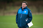 St Johnstone Training….14.10.16<br />Manager Tommy Wright pictured in training this morning atr McDiarmid Park ahead of tomorrows game against Kilmarnock<br />Picture by Graeme Hart.<br />Copyright Perthshire Picture Agency<br />Tel: 01738 623350  Mobile: 07990 594431