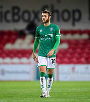 Lincoln City's Jorge Grant in there new third kit<br /> <br /> Photographer Andrew Vaughan/CameraSport<br /> <br /> The EFL Sky Bet League One - Accrington Stanley v Lincoln City - Saturday 21st November 2020 - Crown Ground - Accrington<br /> <br /> World Copyright © 2020 CameraSport. All rights reserved. 43 Linden Ave. Countesthorpe. Leicester. England. LE8 5PG - Tel: +44 (0) 116 277 4147 - admin@camerasport.com - www.camerasport.com