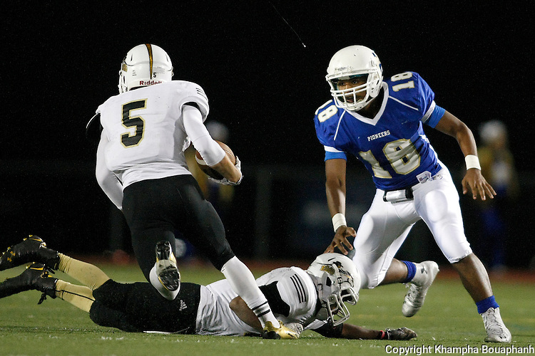 Boswell plays Wichita Falls Rider in district 5-5A football on Friday, October 31, 2014. (photo by Khampha Bouaphanh)