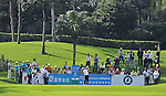 TAIPEI, TAIWAN - NOVEMBER 20:  Lorens Chan of USA tees off on the 9h hole during day three of the Fubon Senior Open at Miramar Golf & Country Club on November 20, 2011 in Taipei, Taiwan. Photo by Victor Fraile / The Power of Sport Images