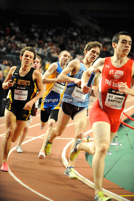 Indoor track & field returns to New York City with the first U.S. Open on January 29, 2012 at Madison Square Garden in New York, New York.  (Bob Mayberger/Eclipse Sportswire)