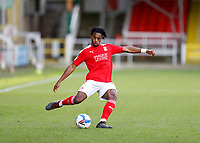 10th October 2020; The County Ground, Swindon, Wiltshire, England; English Football League One; Swindon Town versus AFC Wimbledon; Akinwale Odimayo of Swindon Town