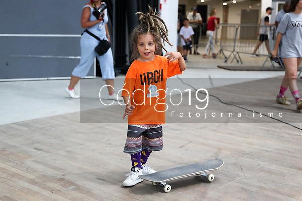 RIO DE JANEIRO, 13.01.2019: SKATE-RIO - Final do Street League Skateboarding (SLS) é realizada neste domingo (13) na Arena Carioca 1 na Barra da Tijuca no Rio de Janeiro. (Foto: Cesar Salles/Código19)