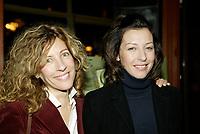 Montreal (Qc) CANADA - December 2007 file photo-<br /> Sophie Lorrain (L),Renée-Claude Brazeau,(R)<br /> launch of La galere (TV) DVD.<br /> Alliance Vivafilm, Productions RCB inc.,et Cirrus ont lancé mercredi 5 décembre le coffret DVD de la premiZre saison de la série « La GalZre C, diffusée sur les ondes de Radio-Canada. Ont participé ? ce lancement : lOauteure Renée-Claude Brazeau, la réalisatrice Sophie Lorain, et la plupart des comédiennes et comédiens dont Anne Casabonne, HélZne Florent, Brigitte Lafleur et GeneviZvre Rochette.<br /> <br /> photo (c) Pierre Roussel- Images Distribution