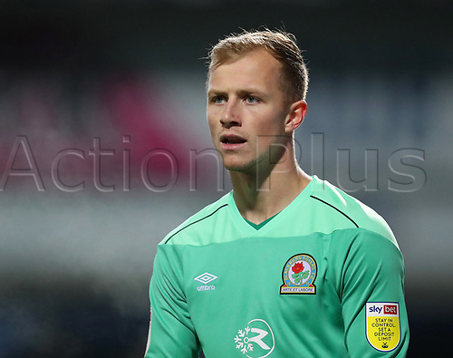 3rd November 2020; Ewood Park, Blackburn, Lancashire, England; English Football League Championship Football, Blackburn Rovers versus Middlesbrough; Goalie Stephen Pears of Blackburn Rovers