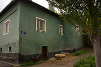 House in the rural town of Bünyan, Kayseri, Turkey