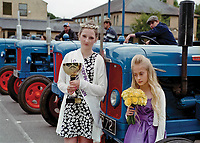 """Queen of Deeping St James, Mollie Markham<br /> Attended by Princess Phoebe Robinson.<br /> <br /> """"One of the highlights this year is<br /> sure to be The English Free Companye, a living history  & battle re-enactment group."""""""
