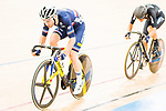 Benjamin Thomas of France and Aaron Gate of New Zealand compete on the Men's Omnium Finals during the 2017 UCI Track Cycling World Championships on 15 April 2017, in Hong Kong Velodrome, Hong Kong, China. Photo by Marcio Rodrigo Machado / Power Sport Images