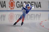 SPEEDSKATING: 07-12-2018, Tomaszów Mazowiecki (POL), ISU World Cup Arena Lodowa, 1000m Ladies Division A, Angelina Golikova (RUS), ©photo Martin de Jong