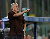 29th August 2021;  Estadio Arechi, Salerno, Campania, Italy;  Serie A Football league, Salernitana versus Roma; Jose Mourinho coach of AS Roma