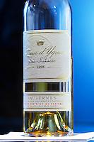 bottle of 1998 chateau d'yquem sauternes bordeaux france