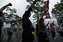 Anti-Nuclear Protest in Harajuku