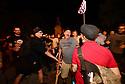 Protesters clash at the Confederate Monument of Jefferson Davis
