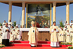 The International Day of Faith celebration on Mt. Precipice in Nazareth