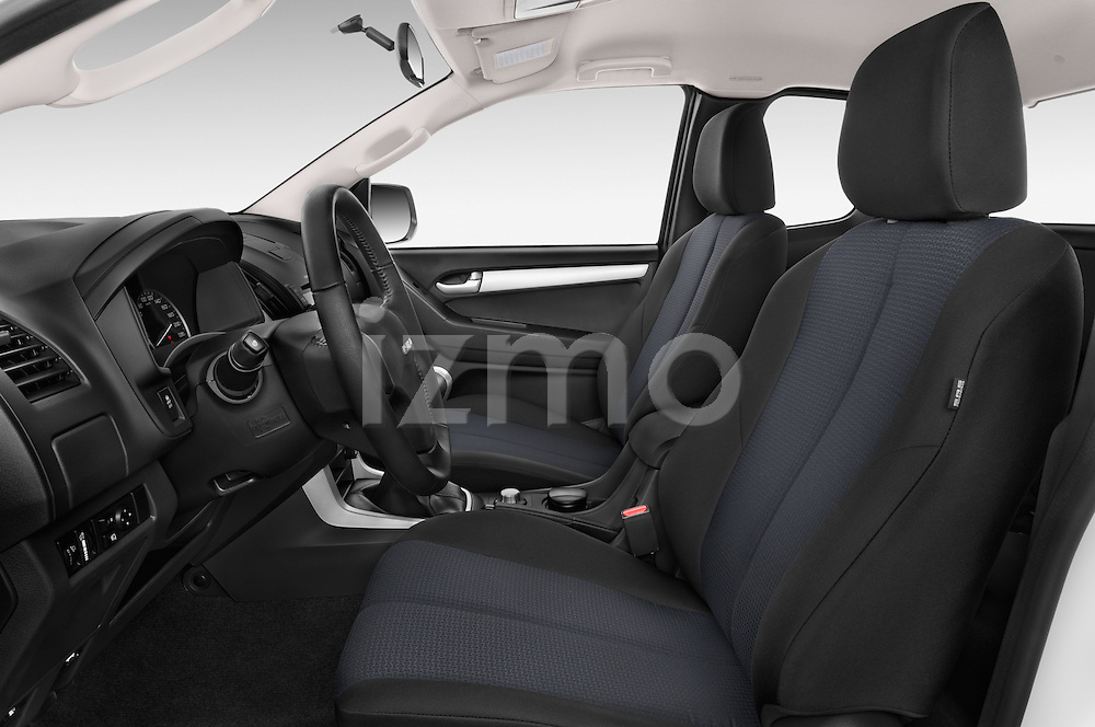 Front seat view of a 2015 Isuzu D-Max L+ 4 Door Pickup 2WD Front Seat car photos