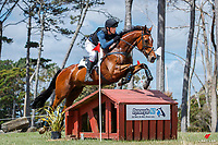 NZL-Jamie Atkinson rides Chatham during the Cross Country for the CCI1*-S. 2020 NZL-Puhinui International Three Day Event. Puhinui Reserve. Auckland. Saturday 12 December. Copyright Photo: Libby Law Photography
