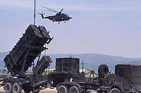 -  batterie di missili contraerei Patriot rischierate in una base del sud Italia durante esercitazioni dell NATO<br /> <br /> - batteries of Patriot anti-aircraft missiles deployed in a base in southern Italy during NATO exercises
