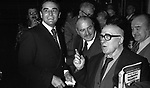 VITTORIO GASSMAN CON CESARE ZAVATTINI - TEATRO DELL'OPERA 1977